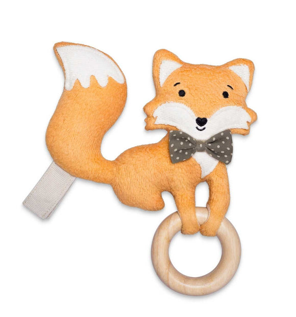 Apple Park Organic Plush Teething Toy - Fox
