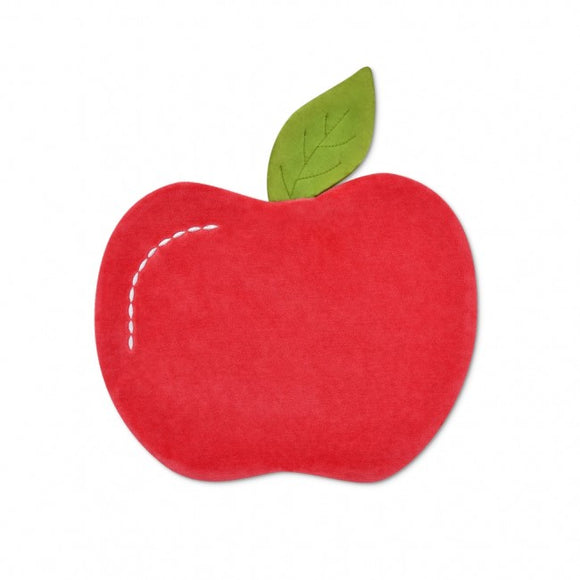 Apple Park Organic Fruit & Veggie Crinkle Blankie - Apple