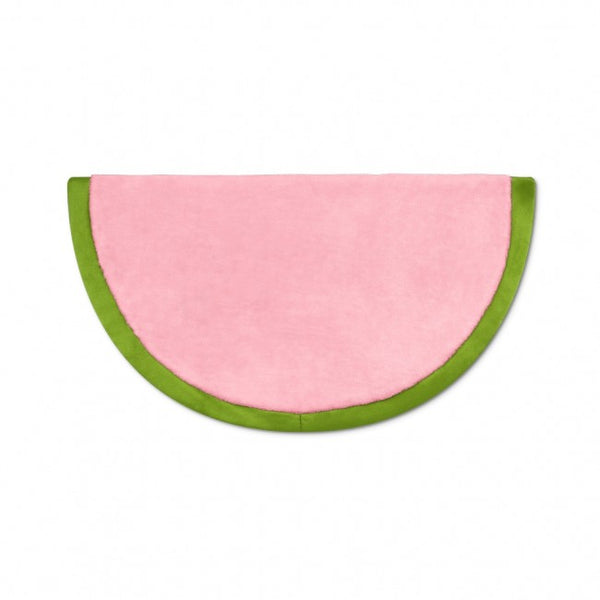 Apple Park Organic Fruit & Veggie Crinkle Blankie - Watermelon