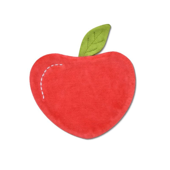 Apple Park Organic Mini Crinkle Blankie - Apple