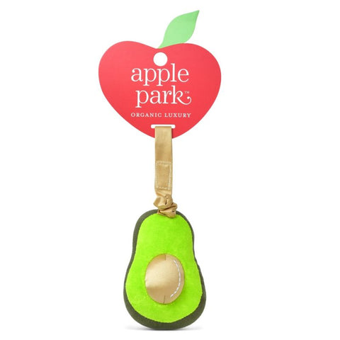 Apple Park Organic Cotton Jiggling Stroller Toy – Avocado