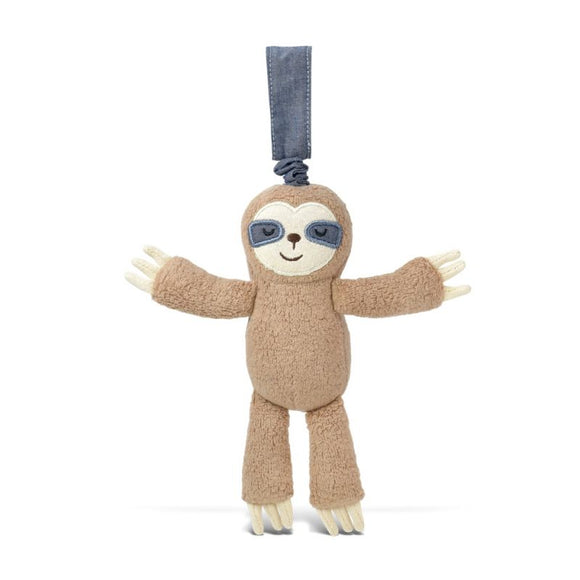 Apple Park Organic Cotton Jiggling Stroller Toy – Sloth