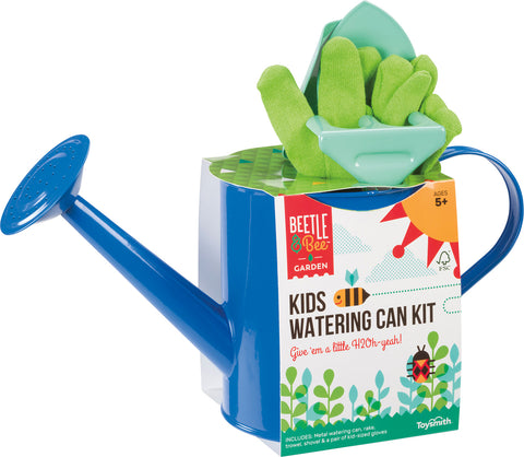 Beetle & Bee Garden - Kids Watering Can Kit