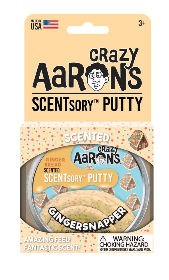 Crazy Aaron's SCENTsory™ Putty Holiday - Gingersnapper