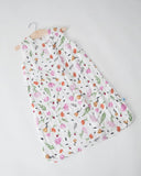 Little Unicorn Cotton Muslin Sleep Bag Berry and Bloom