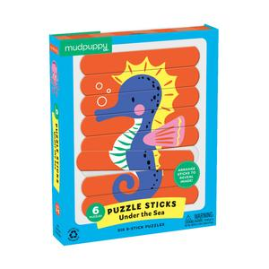 Mudpuppy Puzzle Sticks Under the Sea