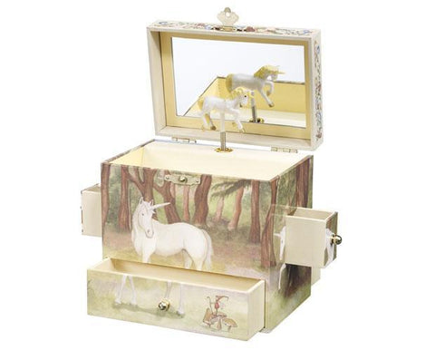 Breyer Unicorn Jewelry Box