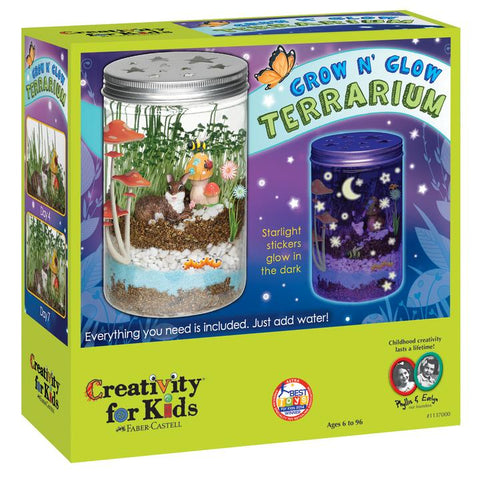 Creativity for Kids: Grow N' Glow Terrarium