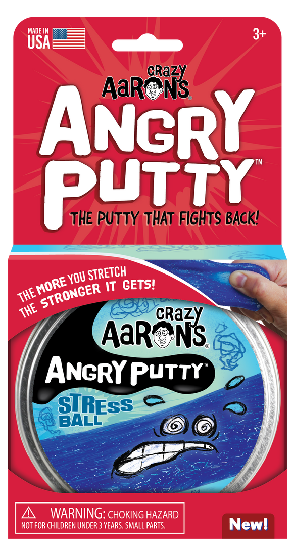 Crazy Aaron's Putty Angry Putty - Stress Ball