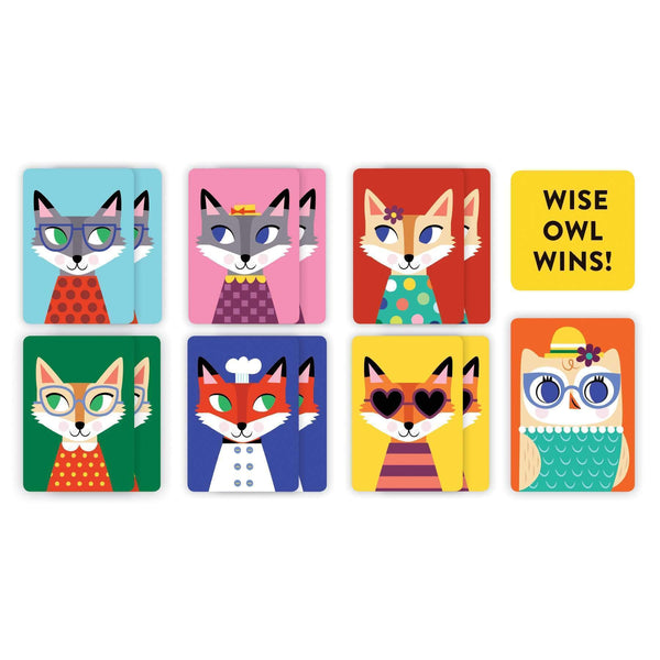 Mudpuppy Playing Cards To Go Wise Owl!