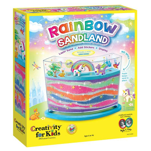 Creativity for Kids: Rainbow Sandland