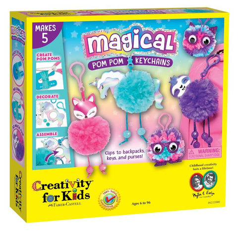 Creativity for Kids: Magical Pom Pom Keychains