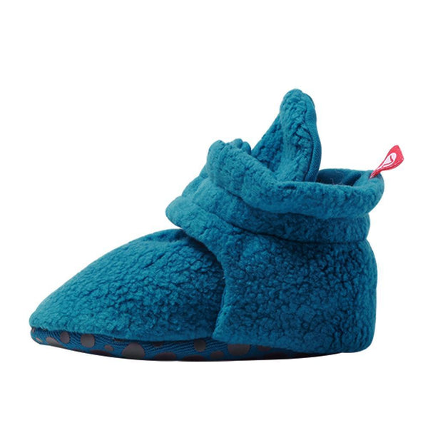 Zutano Cozie Baby Booties Pagoda with Grippers