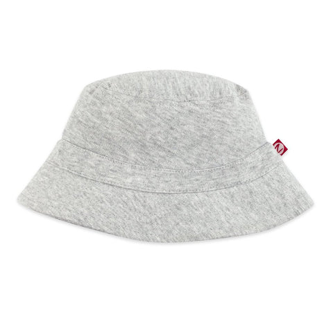 Zutano Baby Bucket Sun Hat Heather Gray