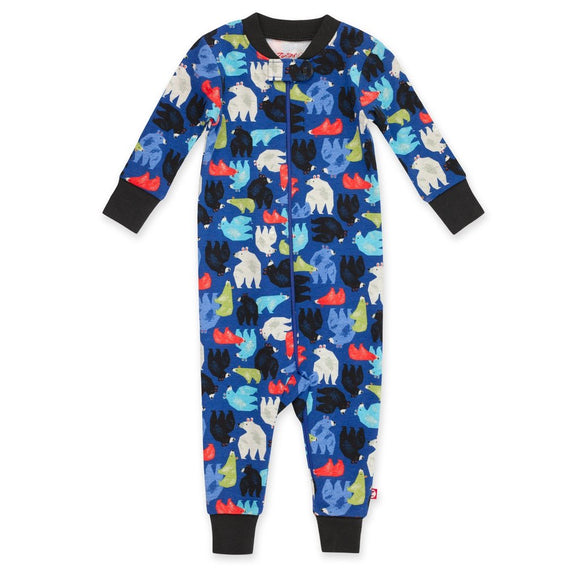 Zutano Baby Organic Sleeper Big Bear