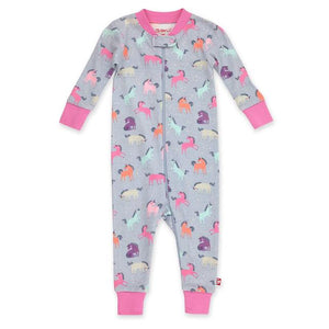 Zutano Baby Organic Sleeper Unicorns