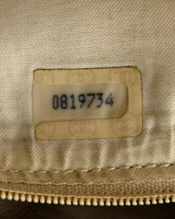 Authentic Chanel Serial Number 1986-1988