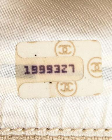 Authentic Chanel Serial Number 1989-1991