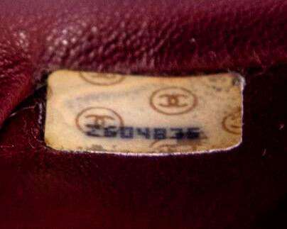 Authentic Chanel Serial Number 1991-1994