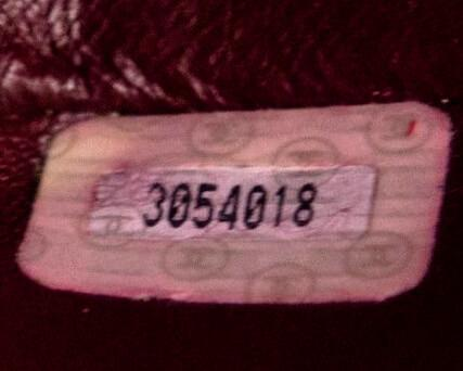 Authentic Chanel Serial Number 1994-1996