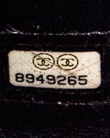 Authentic Chanel Serial Number 2003-2004