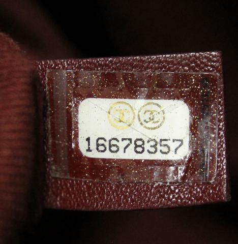Authentic Chanel Serial Number 2012