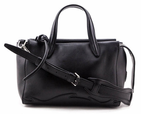 Authentic 3.1 Phillip Lim Black Leather Ames Satchel for sale