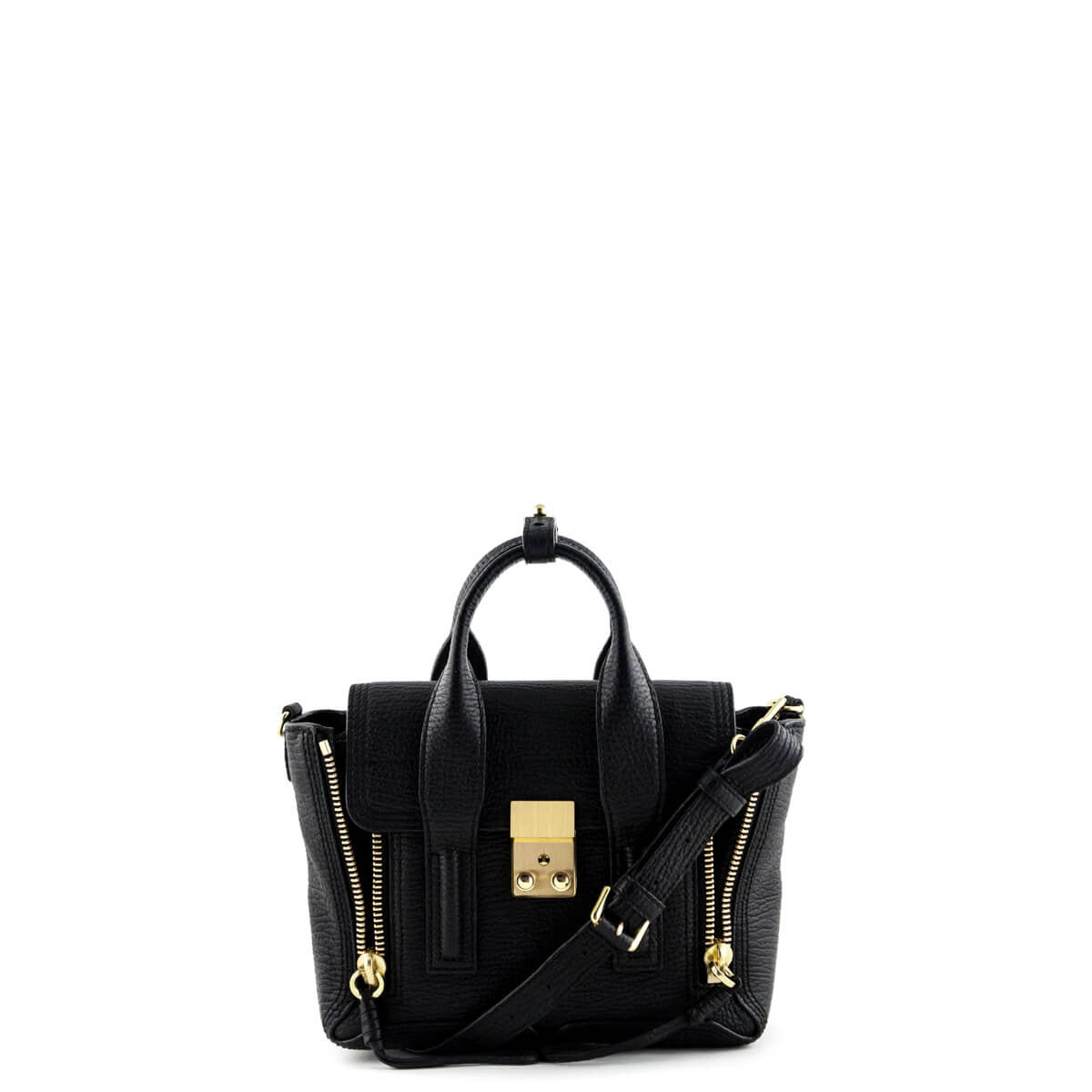 10ae7ecce205 3.1 Phillip Lim Black Leather Mini Pashli - LOVE that BAG - Preowned  Authentic Designer Handbags ...