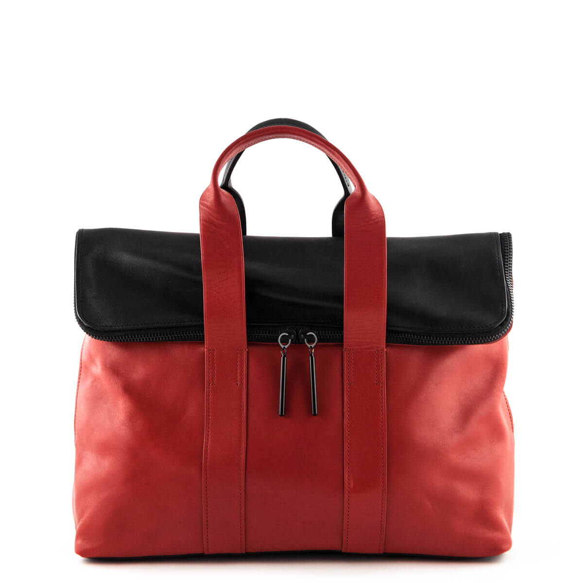dc6860475dd6 3.1 Phillip Lim Red & Black 31 Hour Tote - LOVE that BAG - Preowned  Authentic ...