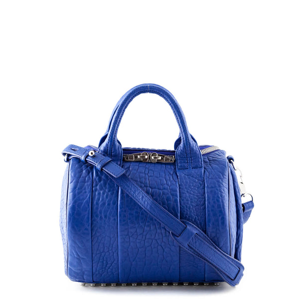 7fd8bfb43a24 Alexander Wang Electric Blue Calfskin Rockie - LOVE that BAG - Preowned  Authentic Designer Handbags