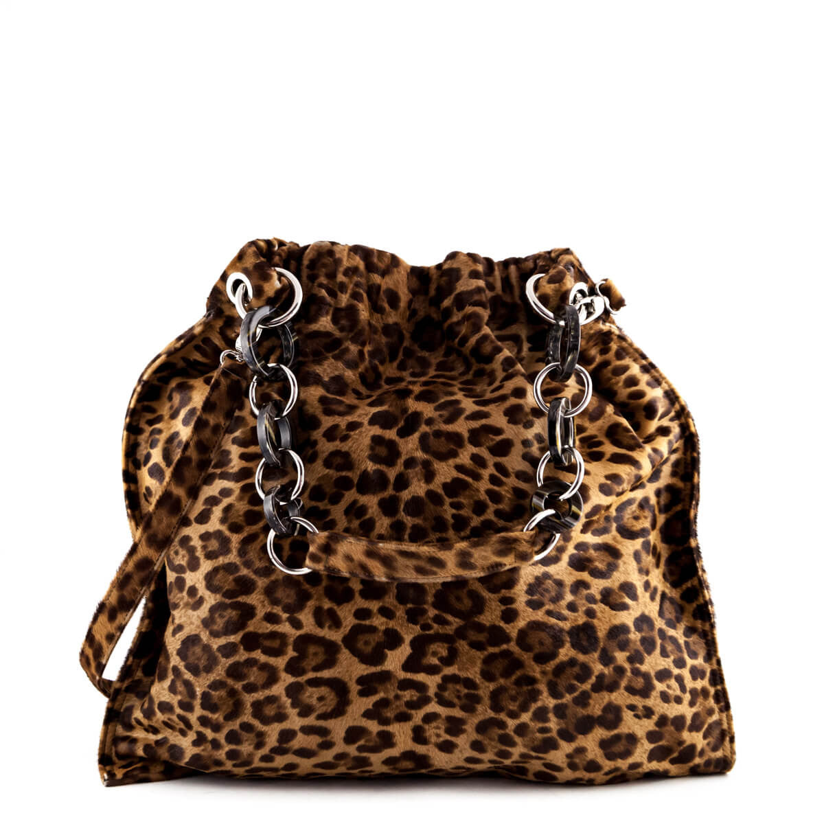 323fe3018dfe Almala Firenze Leopard Print Pony Hair Tote - LOVE that BAG - Preowned  Authentic Designer Handbags ...