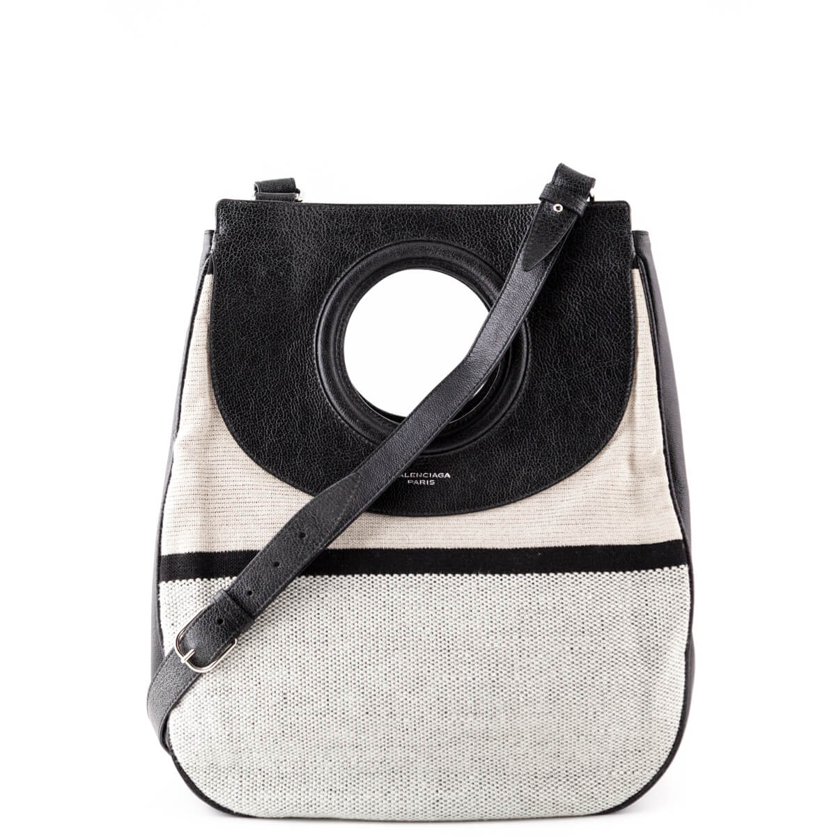 027950bc7a9f Balenciaga Canvas and Leather 1968 Top Handle - LOVE that BAG - Preowned  Authentic Designer Handbags ...