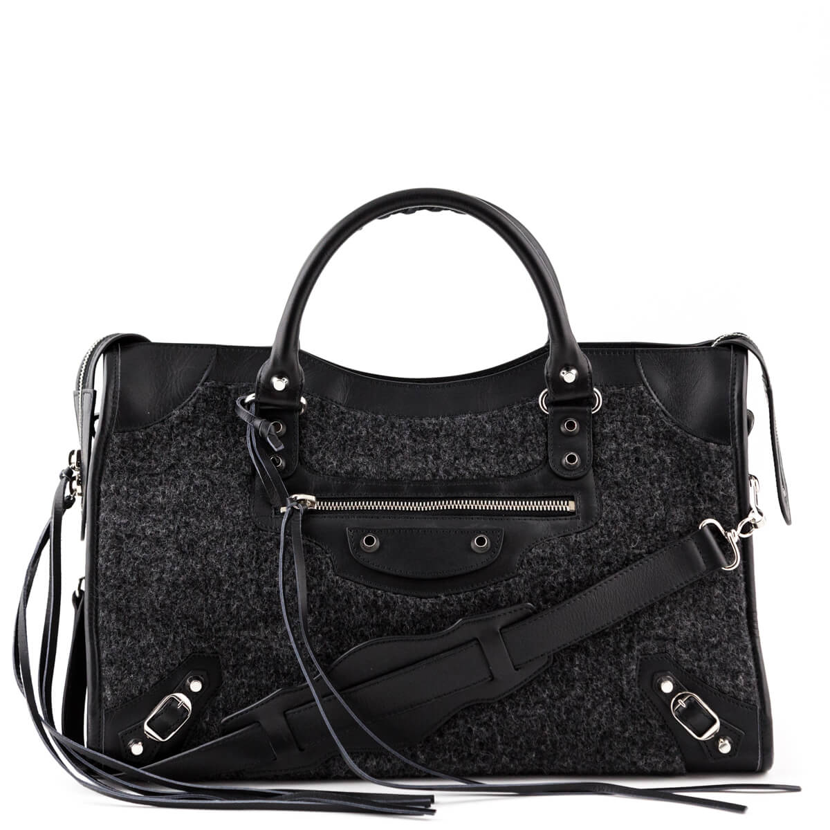 b303875e0ef Balenciaga Motocross Alpaca Classic City - LOVE that BAG - Preowned  Authentic Designer Handbags ...