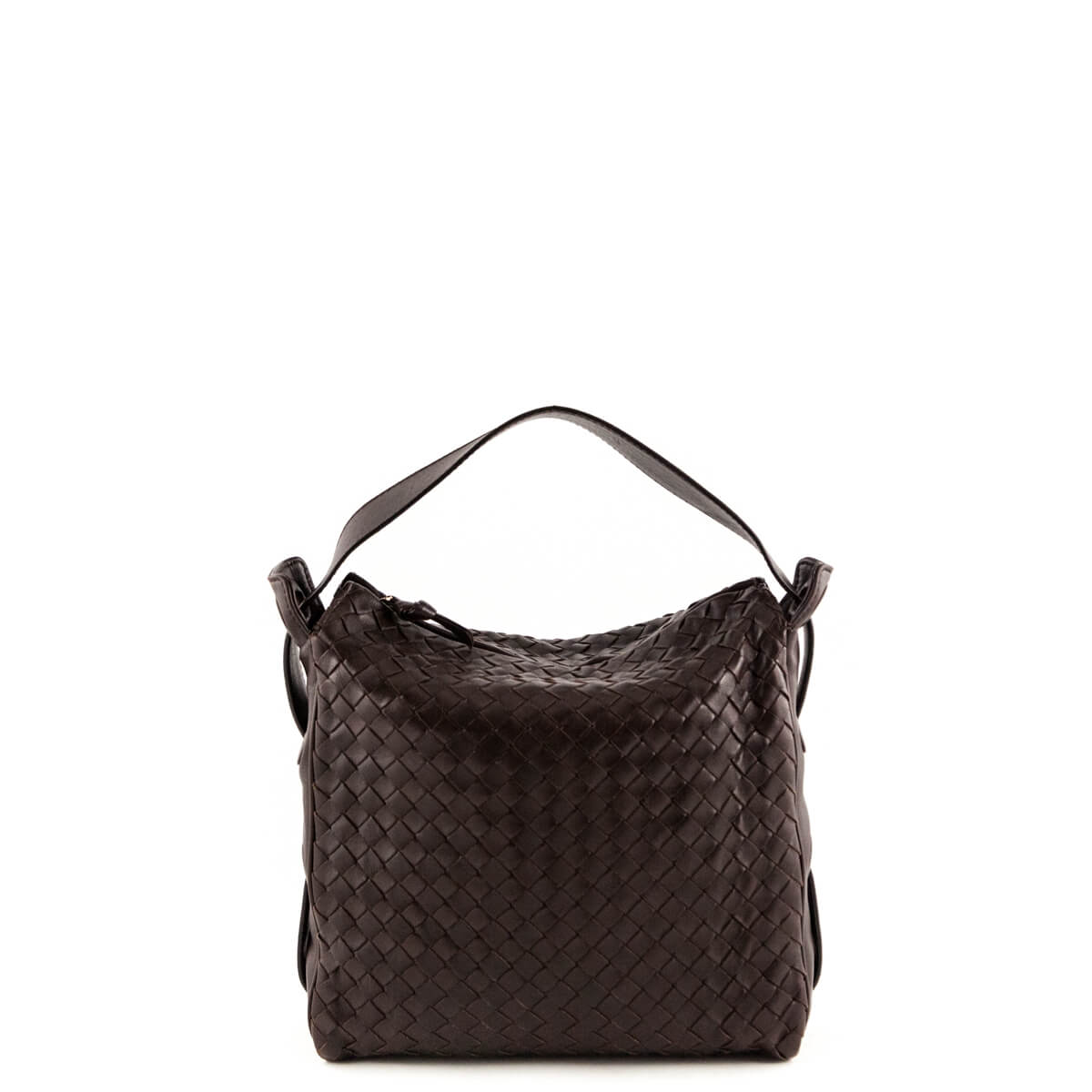c4adf3c942 Bottega Veneta Brown Intrecciato Top Handle - LOVE that BAG - Preowned  Authentic Designer Handbags ...