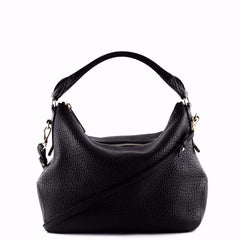 Burberry Black Calfskin Ledbury Shoulder Bag