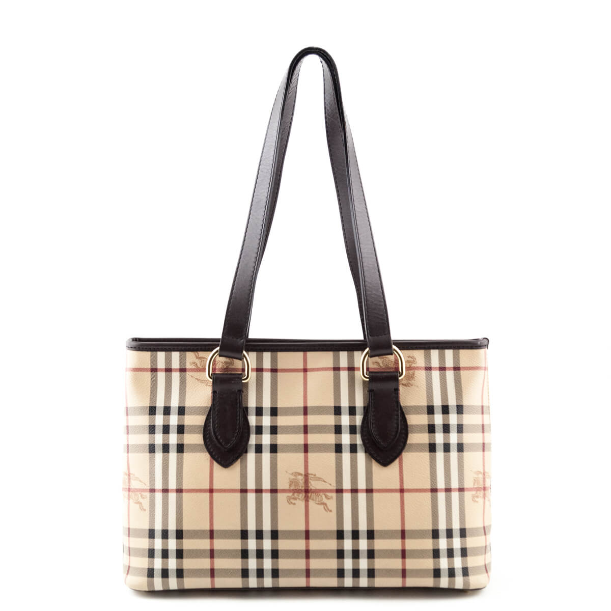 Burberry Haymarket Check Regent Tote - LOVE that BAG - Preowned Authentic  Designer Handbags ... 7ad61ae0197ee