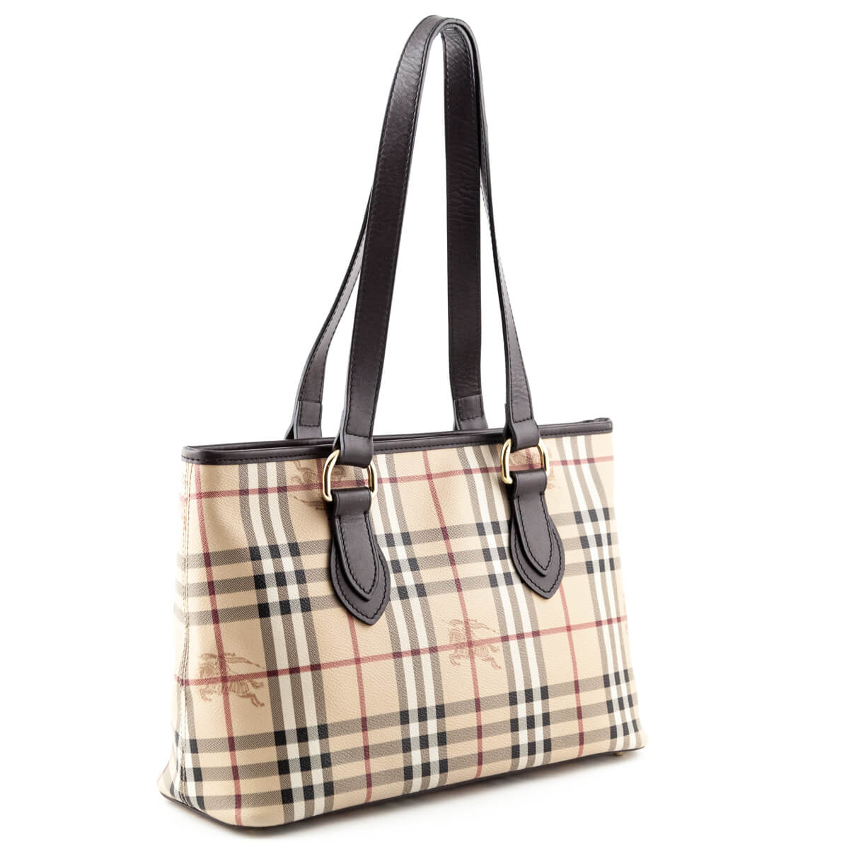 eb85b6045af5 ... Burberry Haymarket Check Regent Tote - LOVE that BAG - Preowned  Authentic Designer Handbags ...