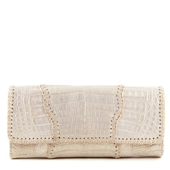 Carlos Falchi Alligator Clutch - 1