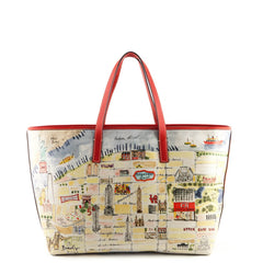 Carolina Herrera Manhattan Print Shopper Tote - 1