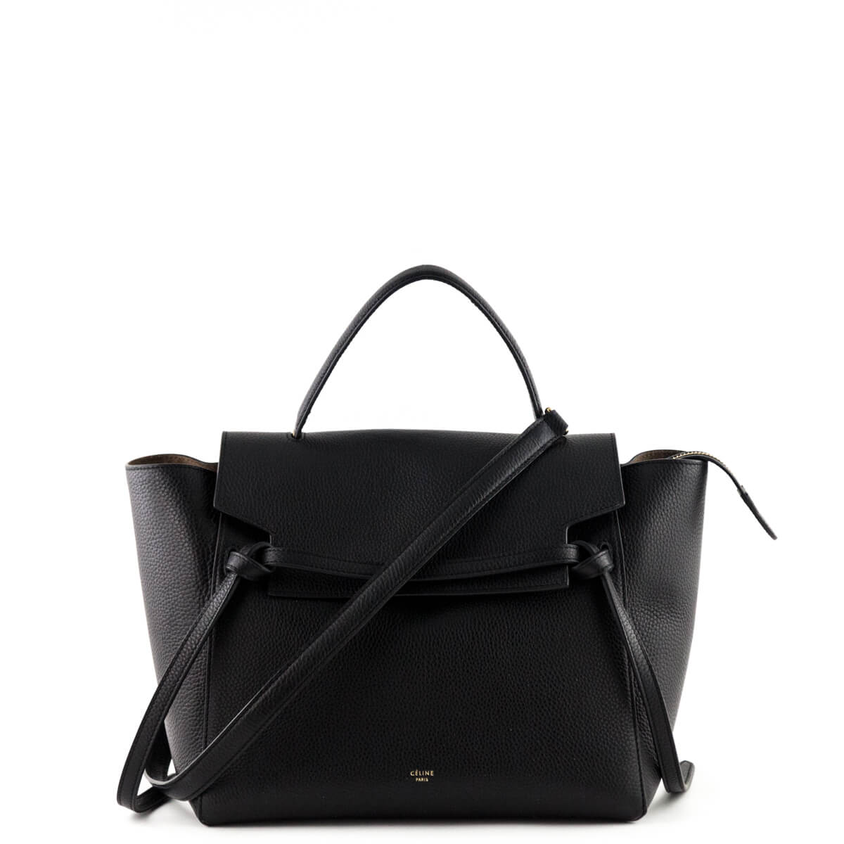 97d47a03c Celine Black Calfskin Medium Belt Bag - LOVE that BAG - Preowned Authentic  Designer Handbags ...