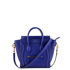 Celine Royal Blue Nano Luggage