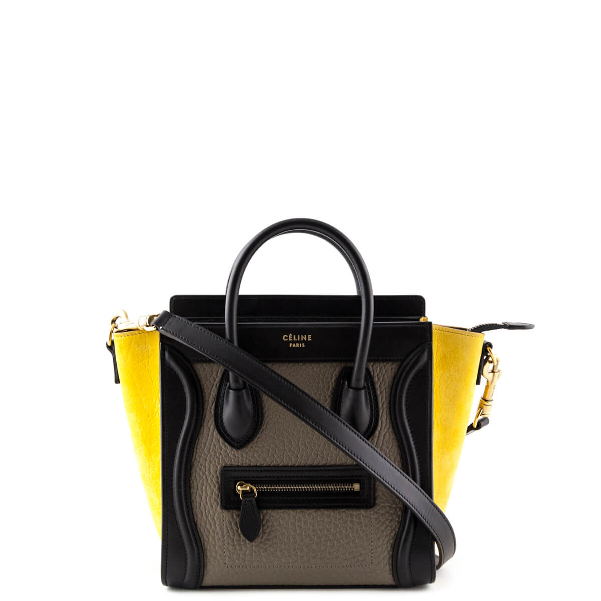 8ddde26382a3 Celine Tricolor Nano Luggage - LOVE that BAG - Preowned Authentic Designer  Handbags ...