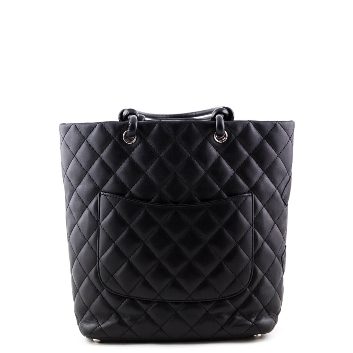 4e15b127aa94 ... Chanel Black Calfskin Medium Cambon Ligne Bucket Tote - LOVE that BAG -  Preowned Authentic Designer ...