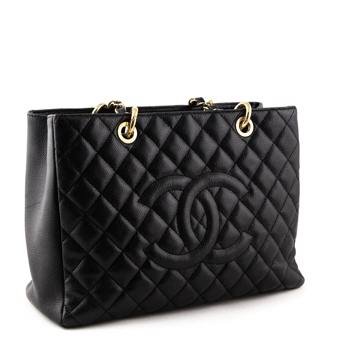c82a5f217809 ... Chanel Black Caviar Grand Shopping Tote GST GHW - LOVE that BAG -  Preowned Authentic Designer ...