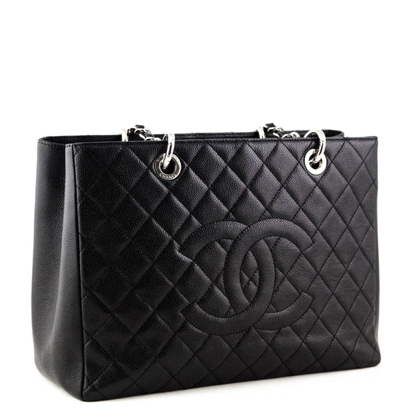 e9afcf98bb6f Chanel Black Caviar Grand Shopping Tote SHW - Luxury Bags Canada