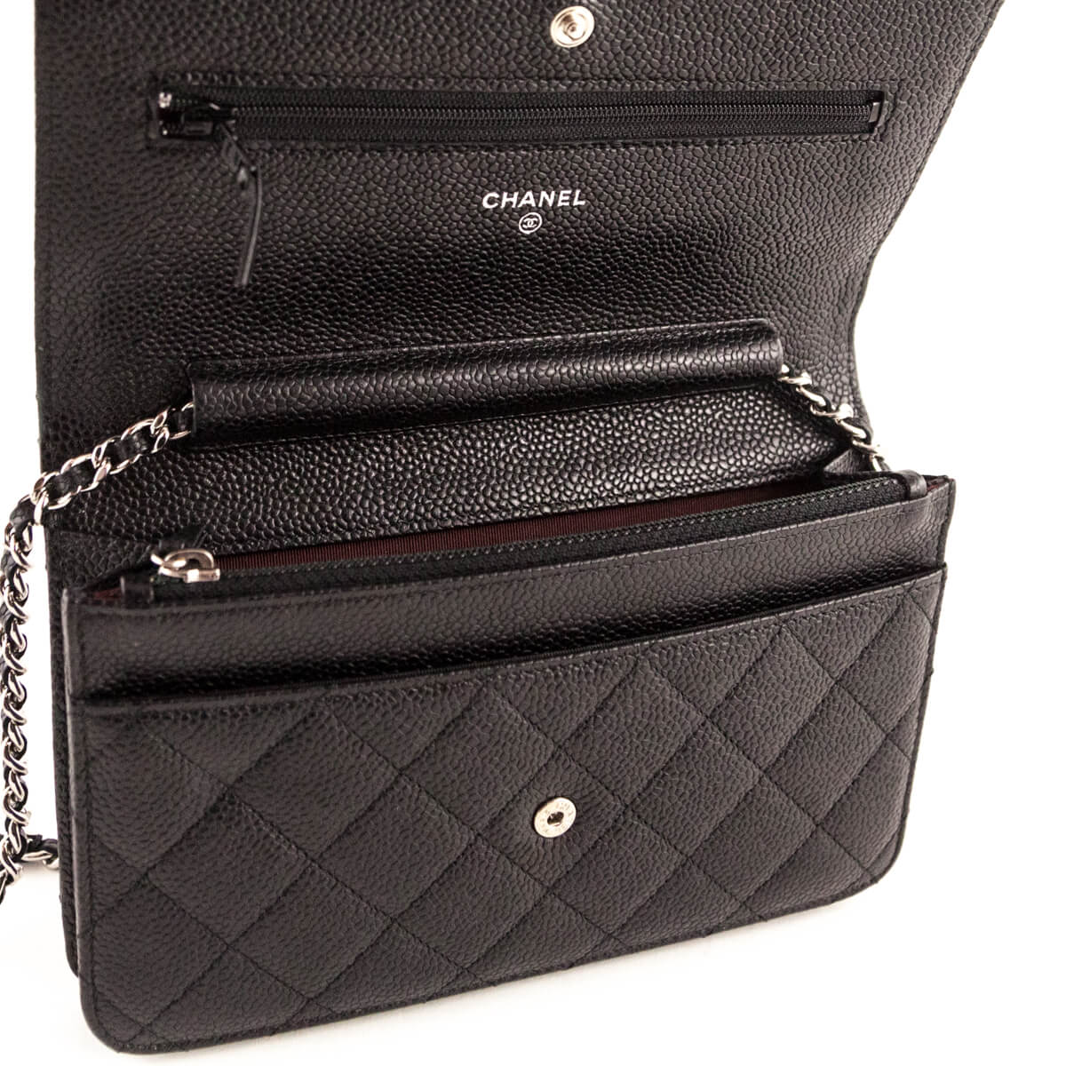 0cfcf90203a5e3 ... Chanel Black Caviar Wallet on Chain SHW - LOVE that BAG - Preowned  Authentic Designer Handbags ...