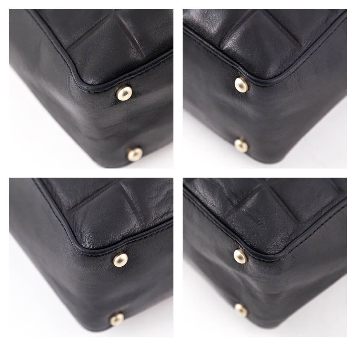 4c9286a4960149 ... Chanel Black Lambskin CC Chocolate Bar Square Shoulder Bag - LOVE that  BAG - Preowned Authentic ...