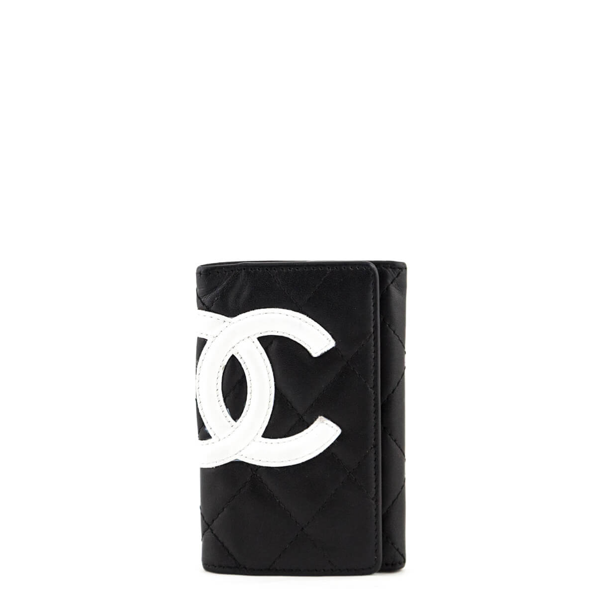 d962e4dc2c2c Chanel Black Quilted Calfskin Ligne Cambon Key Holder - LOVE that BAG -  Preowned Authentic Designer ...