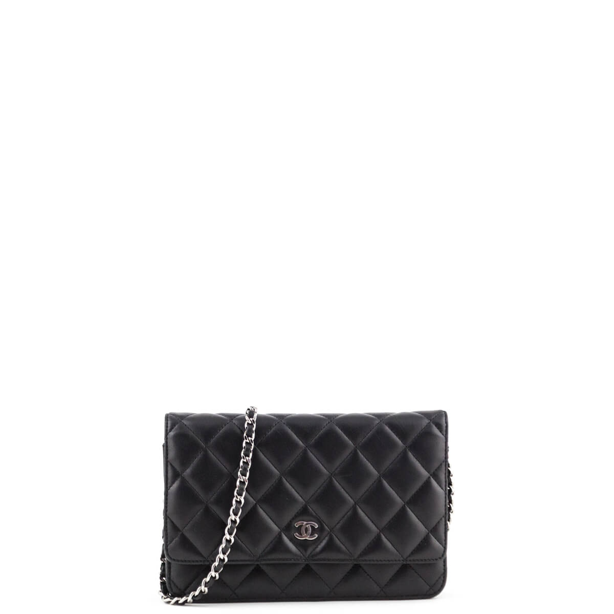 0a423f2bb494 Chanel Black Quilted Lambskin Wallet on Chain SHW - LOVE that BAG - Preowned  Authentic Designer ...