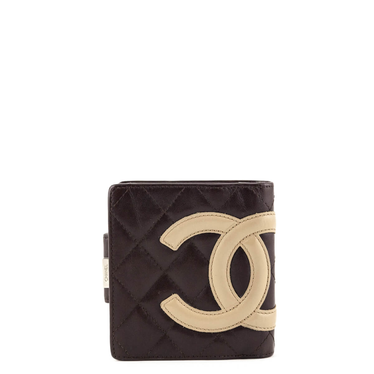 364a9bd8fbb1 Chanel Brown Ligne Cambon Compact Wallet - LOVE that BAG - Preowned  Authentic Designer Handbags ...